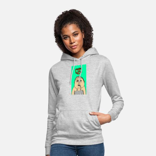Comic Hoodies & Sweatshirts - hypnotized - Women's Hoodie light heather grey