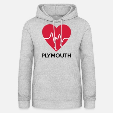 Plymouth heart Plymouth - Women's Hoodie