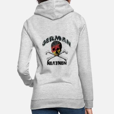 GERMAN HEATHEN - Deutscher Vikinger - Frauen Hoodie