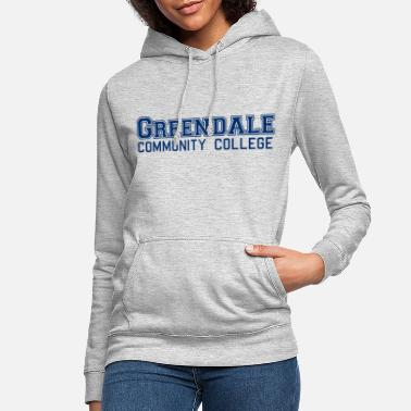 Greendale Community Colllege - Bluza damska z kapturem
