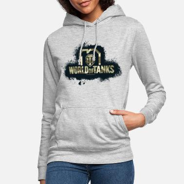 World of Tanks 10th Anniversary Camo Logo - Women's Hoodie