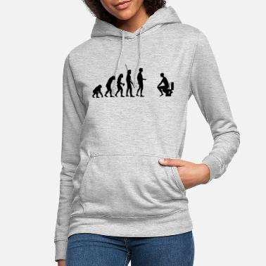Toilette Evolution Toilette - Frauen Hoodie