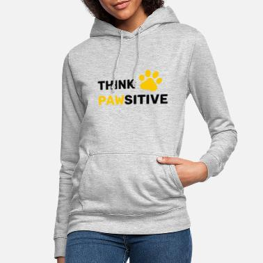 think pawsitive - Sweat à capuche Femme