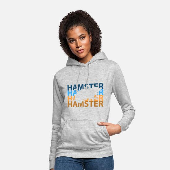 Guinea Pig Hoodies & Sweatshirts - hamster - Women's Hoodie light heather grey