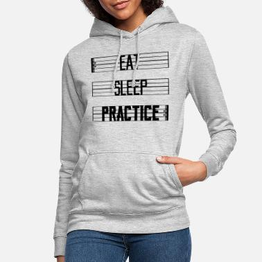 Practice Eat Sleep Practice - Women's Hoodie