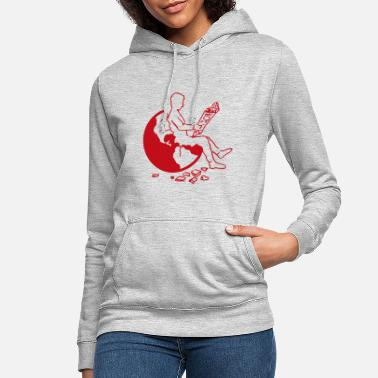 Goodbyeearth Earth | red - Women's Hoodie