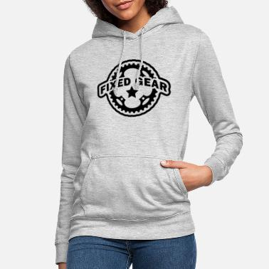 Fixed Gear Fixie Chainring - Women's Hoodie