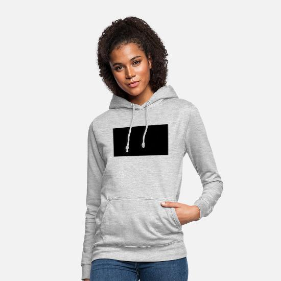 Square Hoodies & Sweatshirts - rectangle background - Women's Hoodie light heather grey