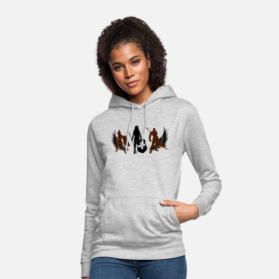 Gladiator Hoodies & Sweatshirts - gladiator - Women's Hoodie light heather grey
