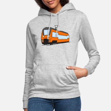 Regional Train Regional train train locomotive railroad model railway - Women's Hoodie