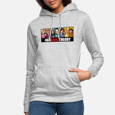 Big The Big Bang Theory Comic teenager T-shirt - Vrouwen hoodie