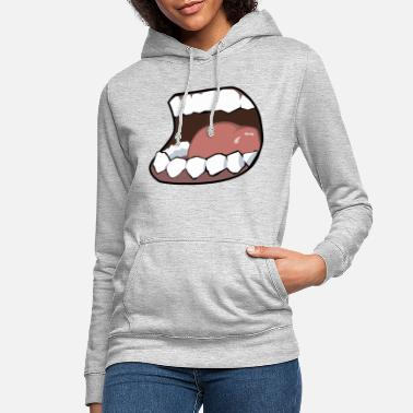 Mouth Hunger, mouth, mouth - Women's Hoodie