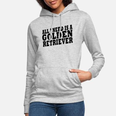 Retriever Golden Retriever Dog Shirt - Women's Hoodie