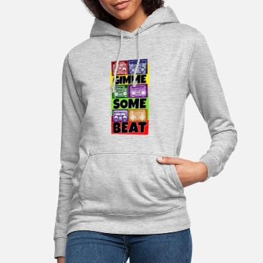 Music Hip Hop Beat Deutschrap Breakdance DJ Graffiti MC - Women's Hoodie