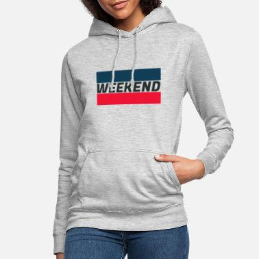 Week-end WEEK-END loisir le week-end - Sweat à capuche Femme