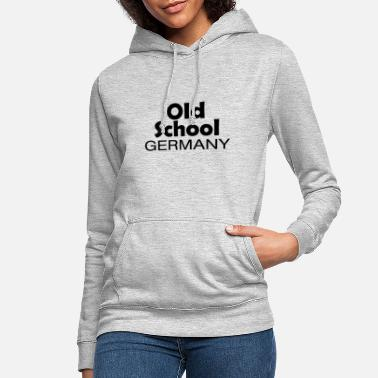 National Colours Old School Germany origin home gift - Women's Hoodie