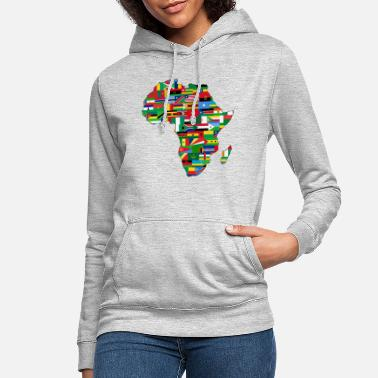 Africa AFRICA AFRICA CONTINENT GIFTS - Women's Hoodie