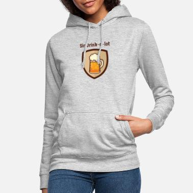 Dicht Ins Dunkel Sir Drinks a lot - Frauen Hoodie