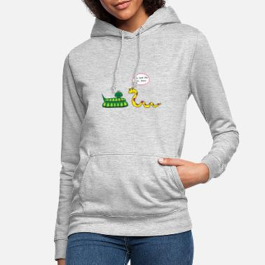 You look shit, Dave! funny snakes saying - Women's Hoodie