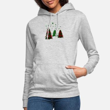 Christmas t-shirt christmas for family tree - Women's Hoodie