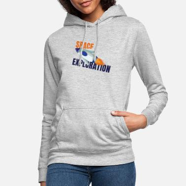 Exploring the universe - Women's Hoodie