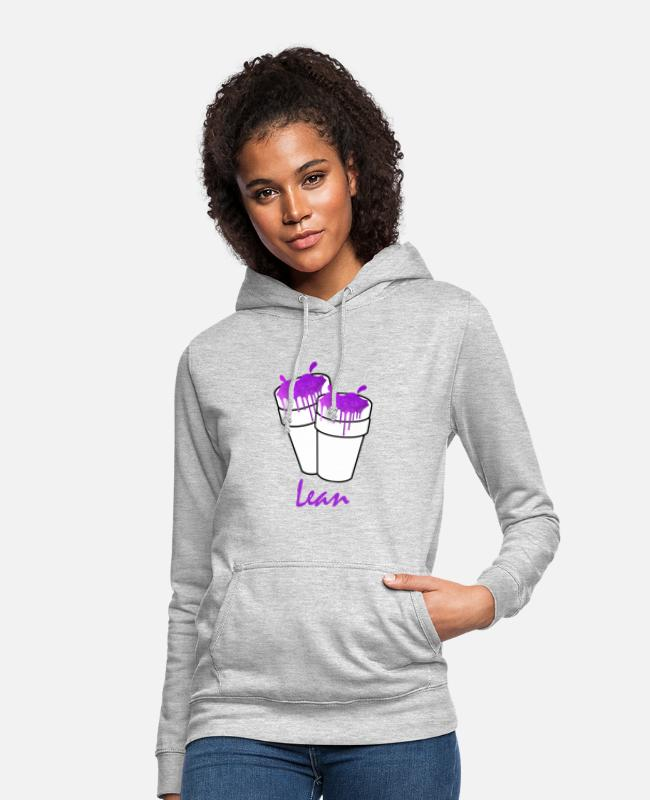 Rap Hoodies & Sweatshirts - Lean Codeine Cups Mug - Women's Hoodie light heather grey