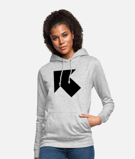 Retro Hoodies & Sweatshirts - arrow full upperleft - Women's Hoodie light heather grey