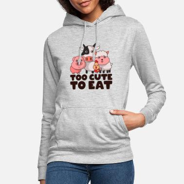 Animal Welfare Animal welfare vegan vegetarians - Women's Hoodie