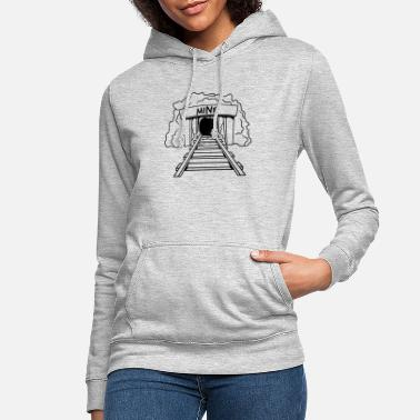 Adit mine entrance - Women's Hoodie