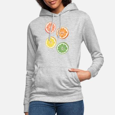 Citrus citrus fruits - Women's Hoodie