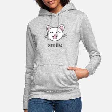 Kissemiss Cat Be Happy Present - Hoodie dam