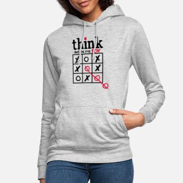 Think Think Outside The Box - Women's Hoodie