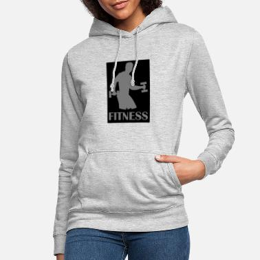 FITNESS is your life - Frauen Hoodie