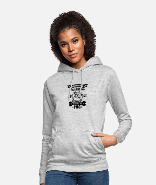 Sweet Dog Hoodies & Sweatshirts - Dog love - Women's Hoodie light heather grey
