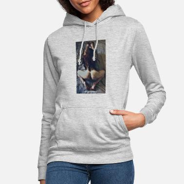 Naked Woman Tight ass - Women's Hoodie