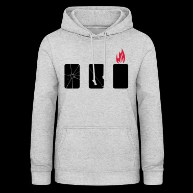 mobile phone harm - Women's Hoodie