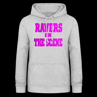 ravers on the scene - Women's Hoodie