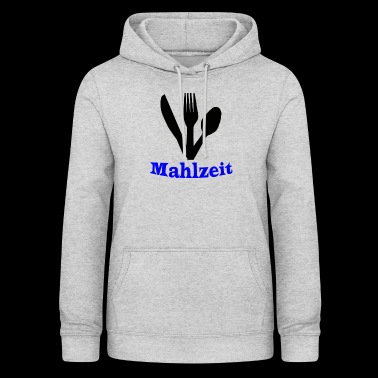 Knife, fork and spoon - meal - Women's Hoodie