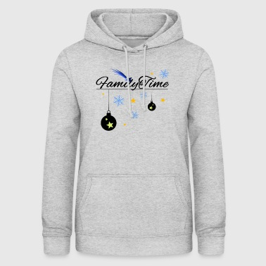 FamilyTime, Star Edition - black - Women's Hoodie