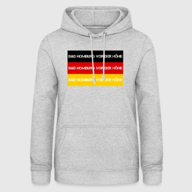 CITY Bad Homburg foer HEIGHT, GERMANY - Dame hoodie