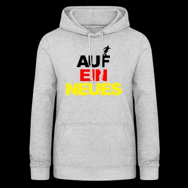European Championship on a new world champion football Germany - Women's Hoodie
