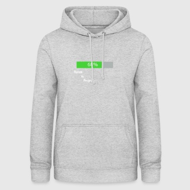 Human in progress - Women's Hoodie