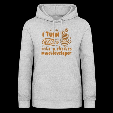 Web developer coffe - Women's Hoodie