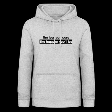 Letting go, this is the secret - Women's Hoodie