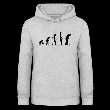 Pensioner Pension Pension Grandpa Granny Evolution Gift - Women's Hoodie