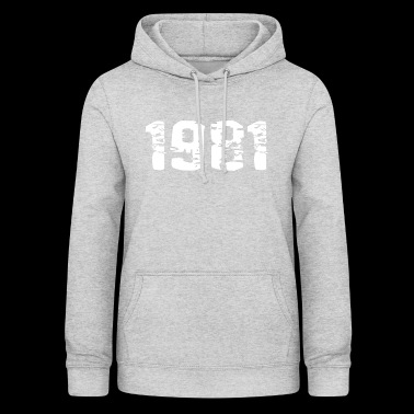 Year of birth - Women's Hoodie