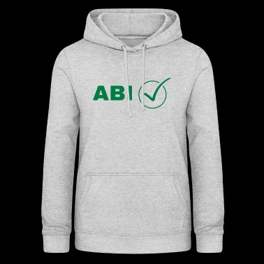 ABI-controle - Vrouwen hoodie