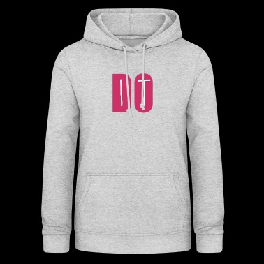 DO IT - Felpa con cappuccio da donna