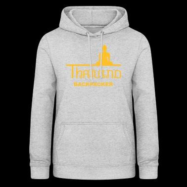 Thailand Backpacker Asia Buddha - Women's Hoodie