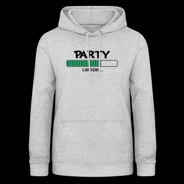 Party loading loading bar - Women's Hoodie